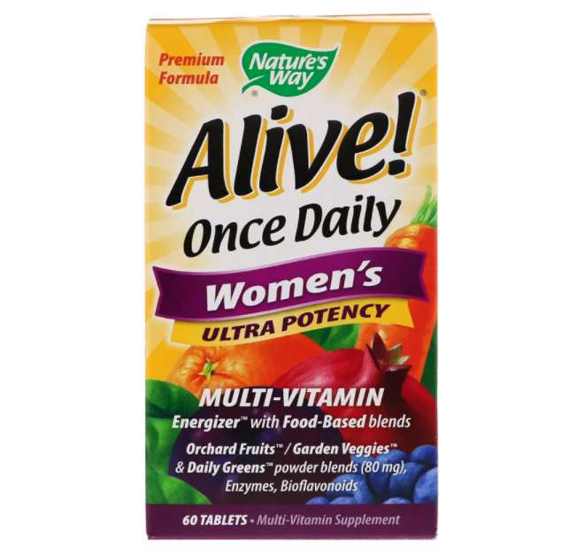 Nature's Way Alive! 一日一錠女性用強力マルチビタミン
