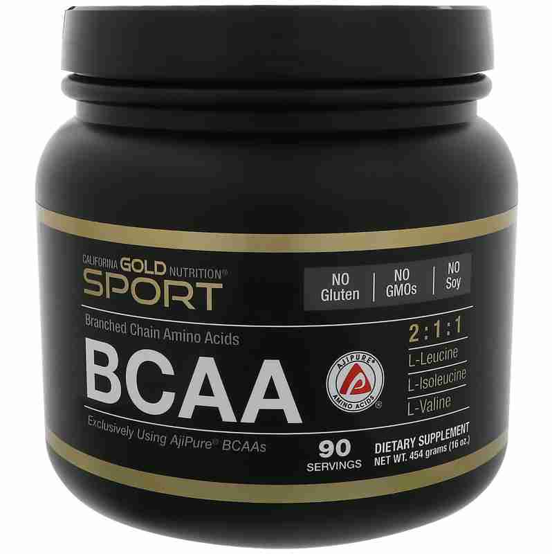 California Gold Nutrition, BCAA