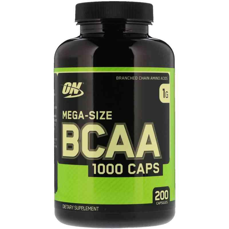 Optimum Nutrition, メガサイズ BCAA 1000 カプセル