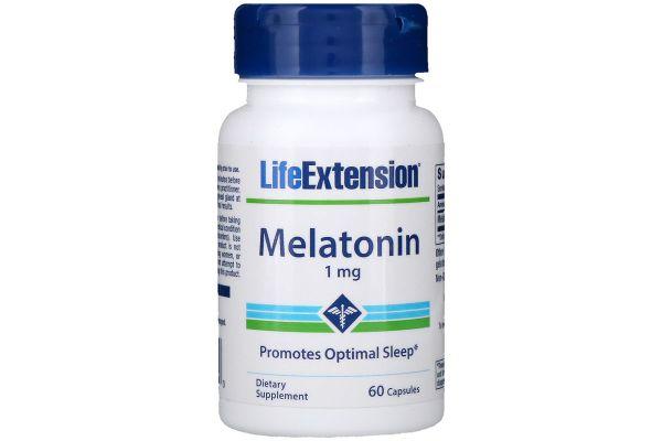 より低用量、ライフエクステンション メラトニン