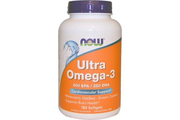 油分の多い魚を週2回以上食べていない人におすすめ、Now Foods ウルトラオメガ3