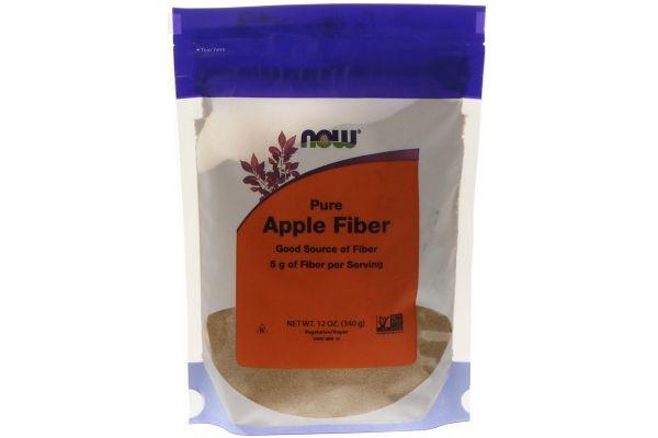水溶性食物繊維をパウダーで、Now Foods ピュアアップルファイバー