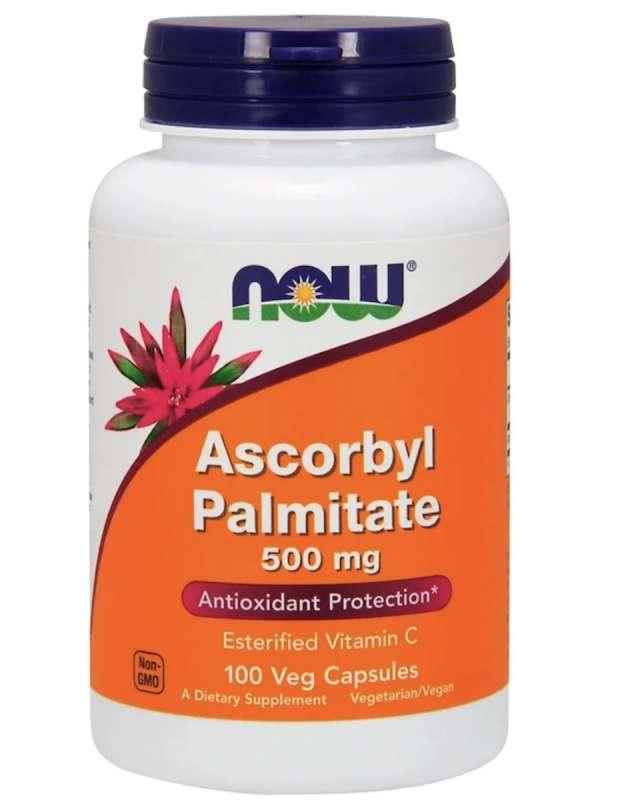 Now Foods, パルミチン酸アスコルビル、500 mg