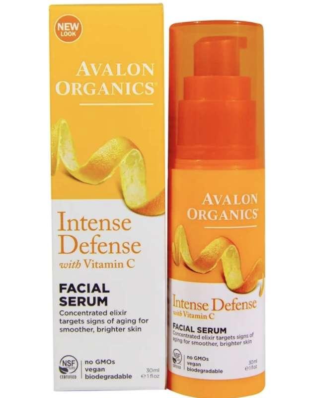 Avalon Organics, ビタミンCリニューアル, 活力を与えるフェイシャルセラム(乳清)