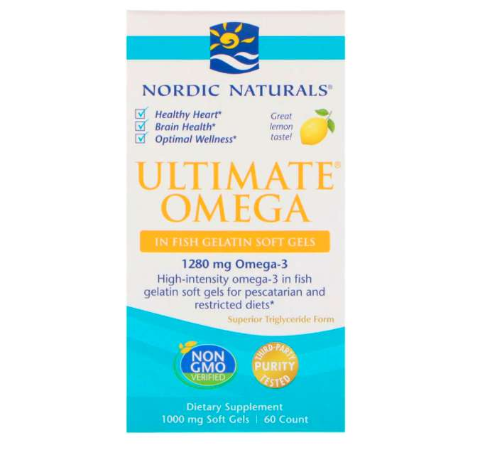 Nordic Naturals オメガ3 レモン 690mg 180ソフトゼリー