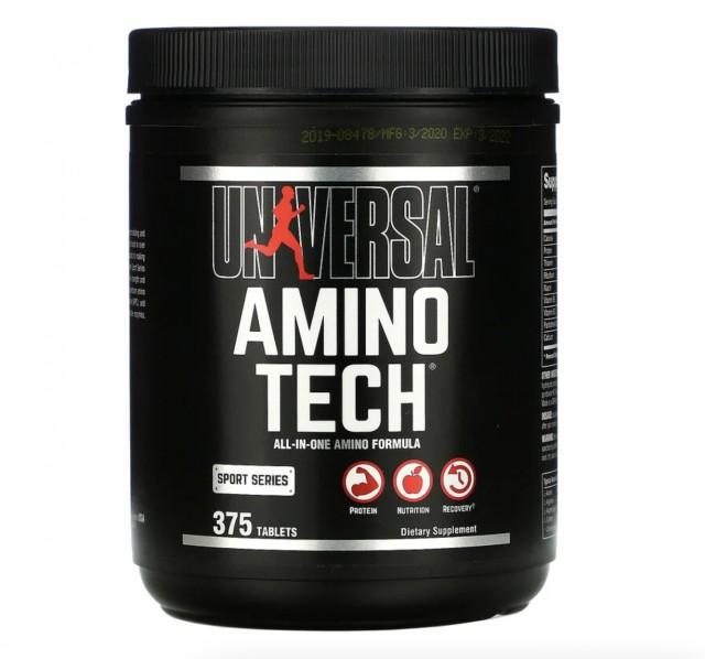 Universal Nutrition アミノテック オールインワン アミノ酸 フォーミュラ 375粒