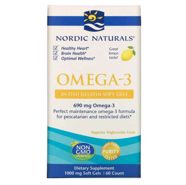 Nordic naturals オメガ3ソフトジェル