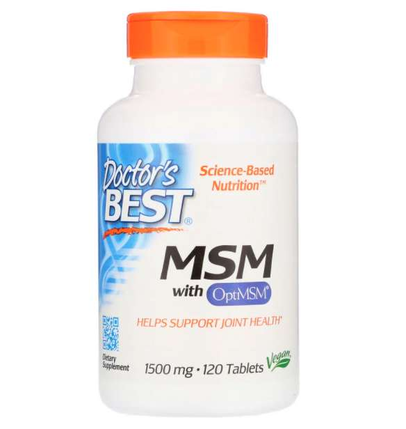Doctor's Best MSM 1500mg