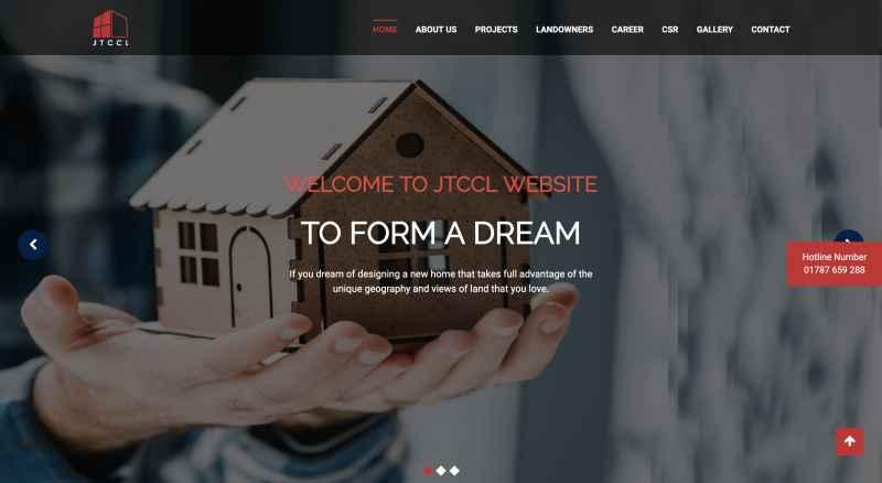 JTCCLコーポレートサイト